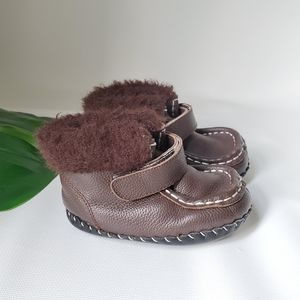 Pediped Fully Faux Fur Lined Winter Booties
